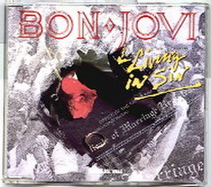 Living in Sin (song) - Image: Bon jovi living in sin