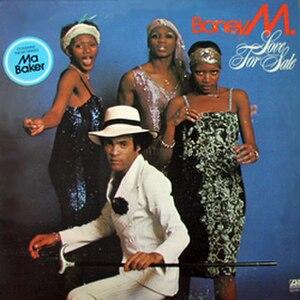 Love for Sale (Boney M. album) - Image: Boney M. Love Sale Sale (US)