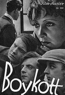 <i>Boycott</i> (1930 film) 1930 film