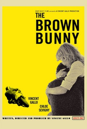 The Brown Bunny - Theatrical release poster