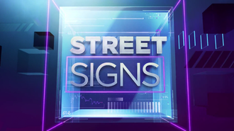 Street Signs (TV program) - Logo used on CNBC from October 13, 2014 through February 6, 2015, on CNBC Asia since February 9, 2015 and on CNBC Europe since its debut on January 4, 2016