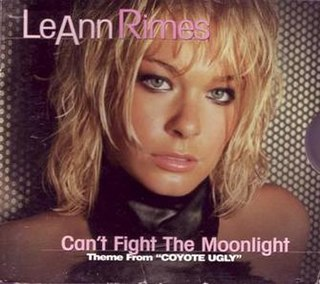 Cant Fight the Moonlight 2000 single by LeAnn Rimes