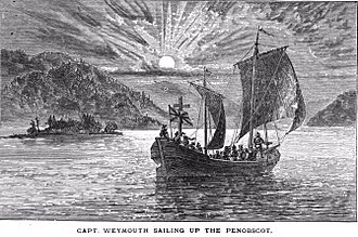 George Weymouth - Captain Weymouth's expedition in Penobscot Bay in Maine