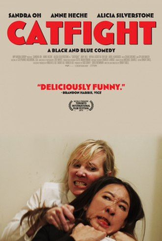 Catfight (film) - Theatrical release poster