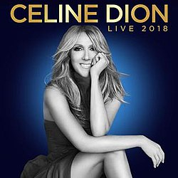 celine dion live 2018 wikipedia. Black Bedroom Furniture Sets. Home Design Ideas