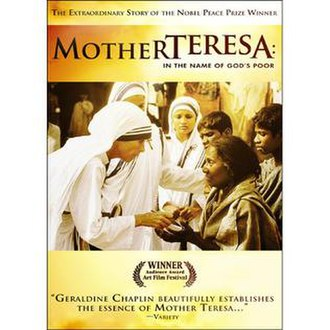 Mother Teresa: In the Name of God's Poor - Image: Chaplinmotherteresa