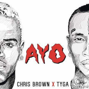 Ayo (song) - Image: Chris Brownand Tyga Ayo