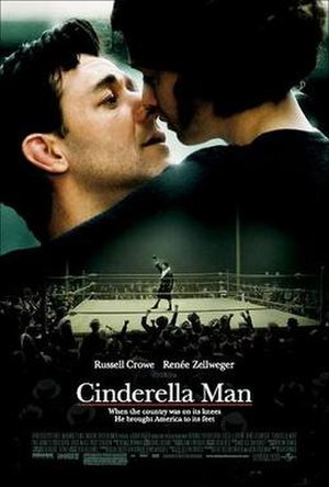 Cinderella Man - Theatrical release poster