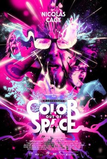 <i>Color Out of Space</i> (film) 2020 horror film directed by Richard Stanley
