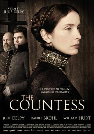 The Countess (film) - Theatrical release poster