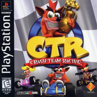 Crash Team Racing - Image: Crash Team Racing NA Cover