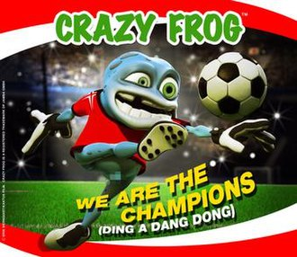 We Are the Champions - Image: Crazy frog champions