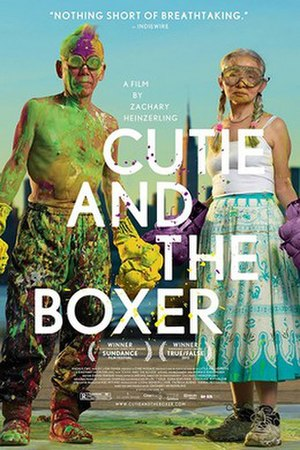 Cutie and the Boxer - Image: Cutie and the boxer poster