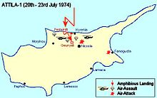 Military operations during the Turkish invasion of Cyprus - Wikipedia