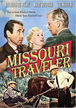 The Missouri Traveler - DVD Cover for The Missouri Traveler
