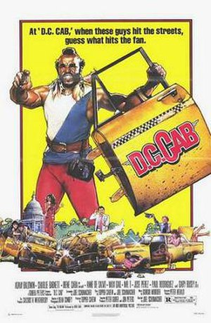D.C. Cab - Theatrical release poster by Drew Struzan