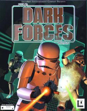 Star Wars: Dark Forces - North American MS-DOS cover art