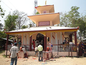 Nawalparasi District - Daunne Devi Temple in Nawalparasi