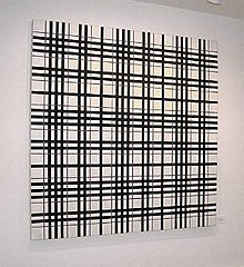 Field Grid: Omicron Eridani, oil on canvas