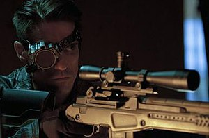 Deadshot - Michael Rowe as Floyd Lawton / Deadshot on Arrow