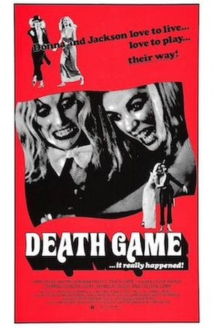 Death Game - Theatrical release poster