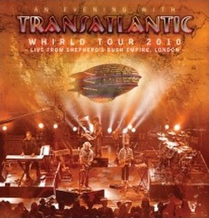 Whirld Tour 2010: Live in London - Image: Detail trans ww 01
