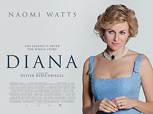 Diana (film) - UK poster