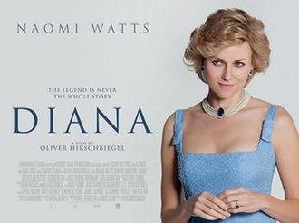 Diana (film) - UK poster