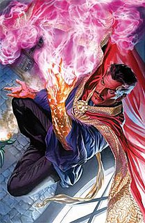 Doctor Strange Superhero appearing in Marvel Comics publications and related media
