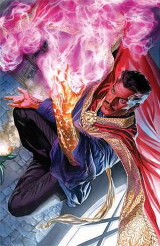 Doctor Strange - Image: Doctor Strange Vol 4 2 Ross Variant Textless