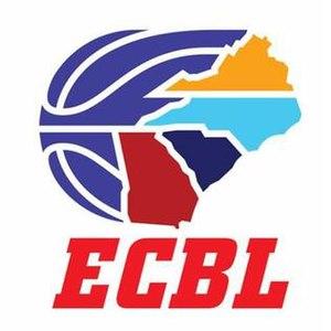 East Coast Basketball League - Image: ECBL basketball logo