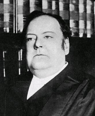 Edward Douglass White - White as he appears in Harper's Magazine in 1910.