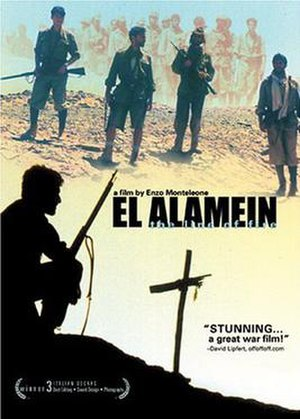 El Alamein: The Line of Fire - Theatrical release poster