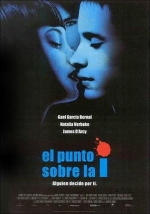 Dot the i - Theatrical release poster from Spain, 2003