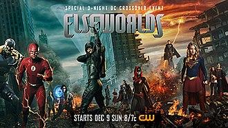 Elseworlds (Arrowverse) - Promotional poster