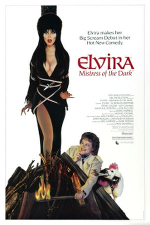 Elvira, Mistress of the Dark - Theatrical release poster