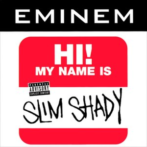 My Name Is - Image: Eminem My Name Is... CD cover