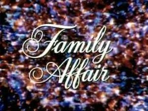 Family Affair - Image: Family Affair Logo
