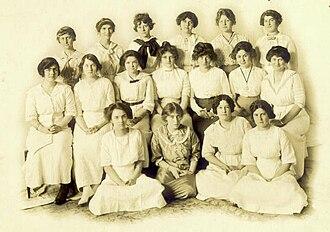 Ferry Hall School - The 1912-1913 Poetry Club.