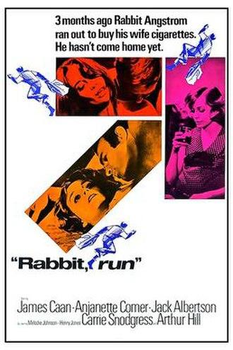 Rabbit, Run (film) - Theatrical release poster