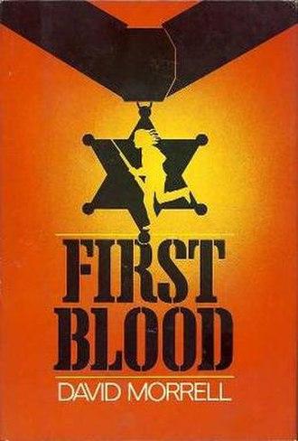 First Blood (novel) - First edition