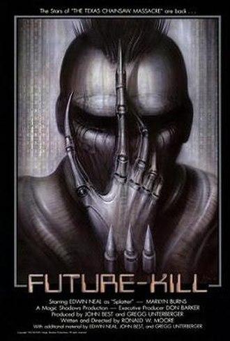 Future-Kill - Theatrical release poster