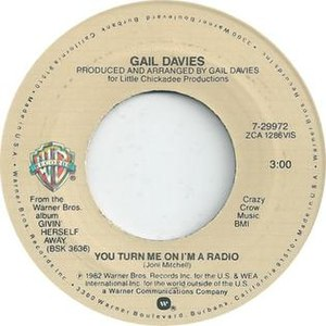 You Turn Me On, I'm a Radio - Image: Gail Davies You Turn Me On I'm a Radio