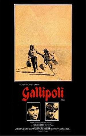 Gallipoli (1981 film) - Original Australian release poster
