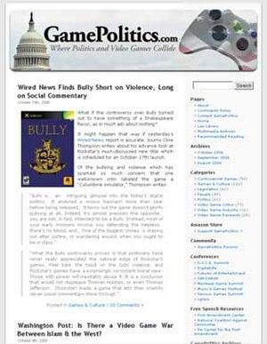 GamePolitics.com - GamePolitics homepage.