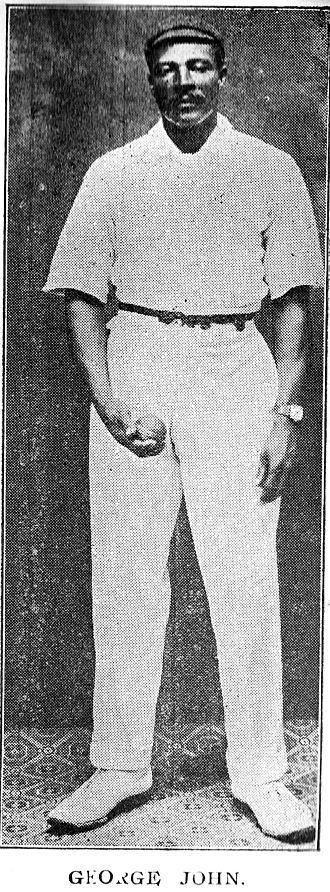 George John (cricketer) - Image: George John (cricketer)