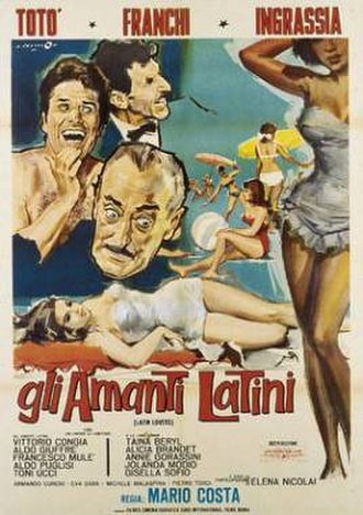 Latin Lovers (1965 film) - Image: Gli Amanti latini