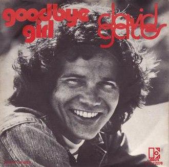 The Goodbye Girl (song) - Image: Goodbye Girl David Gates