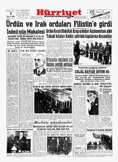 <i>Hürriyet</i> Turkish newspaper