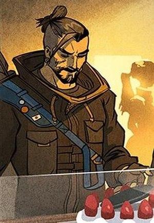 Hanzo (Overwatch) - Hanzo in the digital comic series